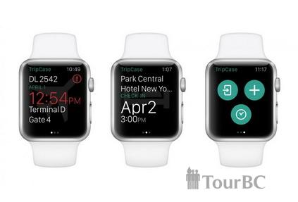 Компания Sabre выпустила приложение TripCase для смарт-часов Apple Watch