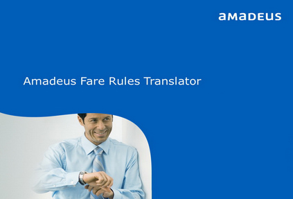 Приложение для автоматического перевода условий применения авиатарифов от Amadeus