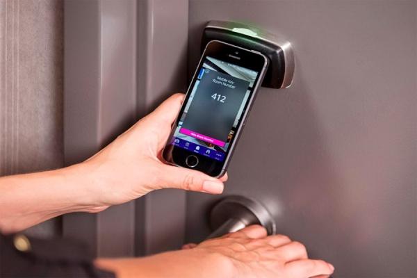 SPG Keyless - технология, позволяющая использовать мобильное устройство в качестве ключа от номера отеля